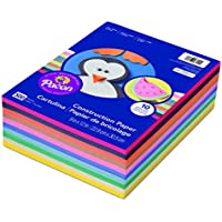 Pacon 6555 Rainbow Super Value Construction Paper Ream,...