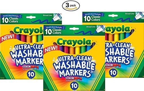 Crayola Ultraclean Broadline Classic Washable