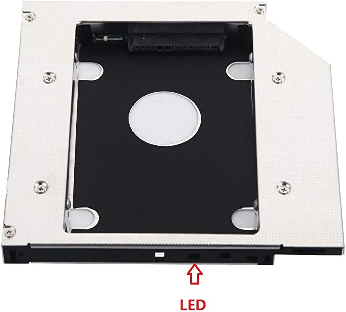 Hard Disc Caddy Second 2nd SSD SATA Hd-Caddy Dell Inspiron 1750 1764 1564