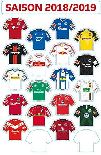 DFL 1 Bundesliga Magnettabelle 2018-2019