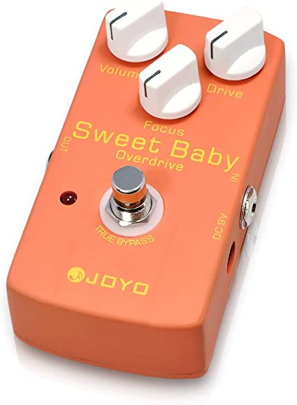 Joyo JF-36 Sweet Baby Low Gain Overdrive Guitar Effect Pedal w// Focus Control