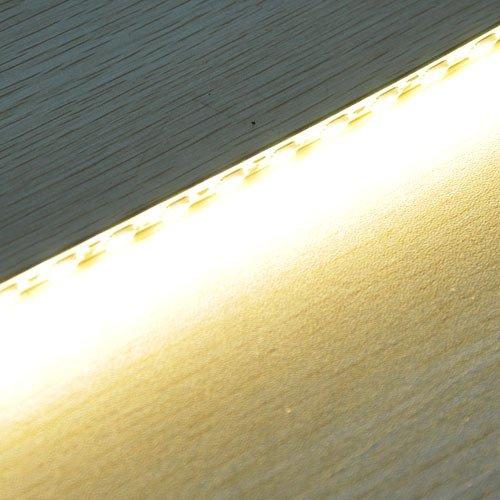 Striscia semi rigida modellabile in alluminio da 1 metro a 72 led ...