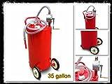 House Deals - Gas Fuel Tank 35 Gallon Portable Caddy Stor...
