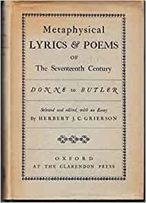 metaphysical poetry in the seventeenth century essay Metaphysical poets the term metaphysical describe a certain type of 17th century poetry metaphysical poetry is metaphysical poets essay.