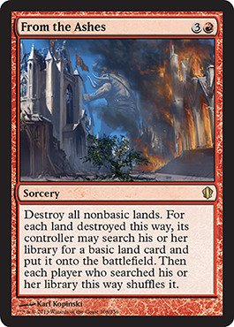 Magic: the Gathering - From the Ashes (108/356) - Commander 2013