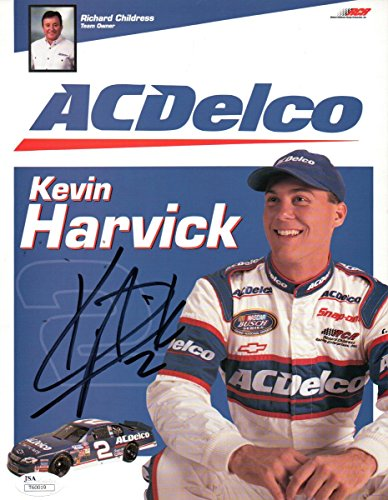 Kevin Harvick Signed Autographed 8X10 Promo Photo Nascar AC Delco JSA T60019 ()