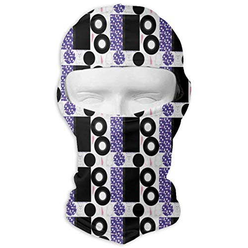 Windproof Balaclava, Magic Hat Purse and Rabbit Cold Weather Face Mask for Ski&Snowboard -
