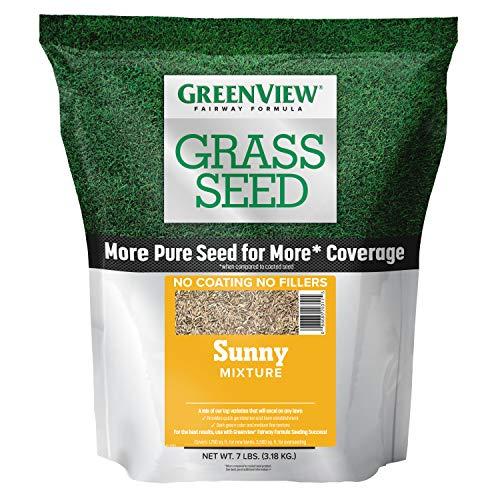 GreenView 2829340 Fairway Formula Grass Seed Sunny Mixture, 7 lb