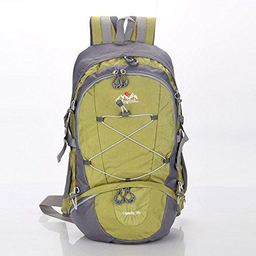 LINGE-Suben bolsas deportes al aire libre de gran capacidad los hombres y las mujeres bolso protector de lluvia , red Green