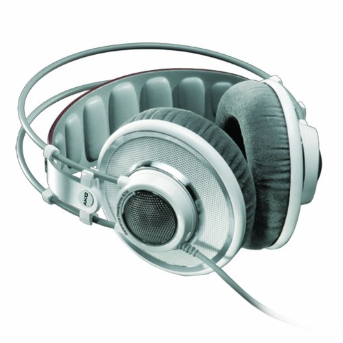 AKG Pro Audio K701 Reference Class Premium Headphones, White