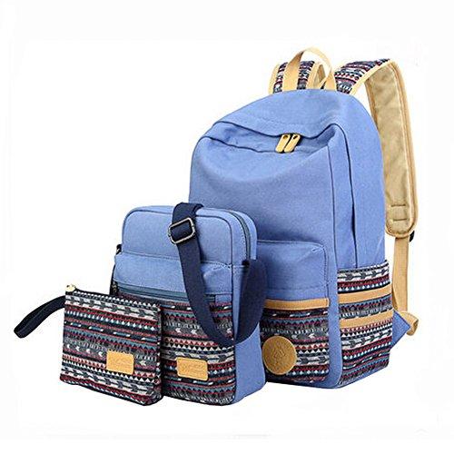 Mode Schulterbeutel/Schüler-Schulter-BeutelReise-Schule-Rucksack?Dreiteilig