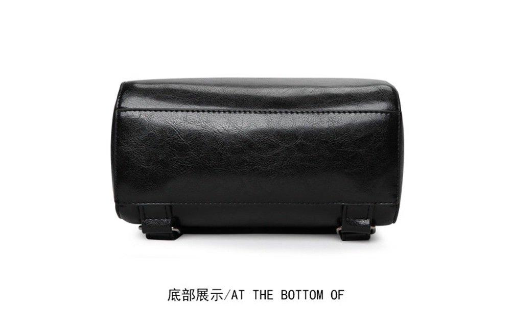 SJMMBB Multi-Functional Backpack Fashion Student Bag,Black,29X23X12Cm by SJMMBB (Image #4)