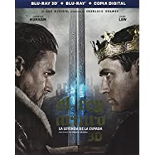 King Arthur: The Legend of the Sword (El Rey Arturo: La Leyenda de la Espada) BLU-RAY 3D + BLU-RAY + DIGITAL COPY (English, Spanish & Portuguese Audio & Subtitles) IMPORT