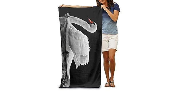Premium calidad cisne blanco piscina toalla, toallas de baño para baño, gimnasio, y piscina 31 en X51 en: Amazon.es: Hogar