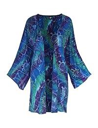 Kimono Cardigan Plus Size, Womens PLUS Size Cardigan, Bohemian Tribal Clothing