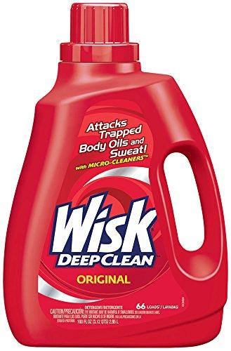 Wisk Deep Clean Liquid Laundry Detergent, Original, 100 Ounces