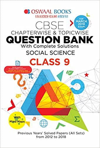 Oswaal CBSE Question Bank Class 9 Social Science Chapterwise and