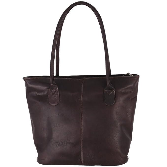 Amazon.com: Latico bolsa Bolsa de hombro, Marrón, talla ...
