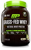 MusclePharm Grass Fed Whey Protein, 100% All Natural Whey Protein Isolate, No Artificial Flavors, Colors or sweeteners, Gluten Free, Non GMO, Vanilla, 28 Servings