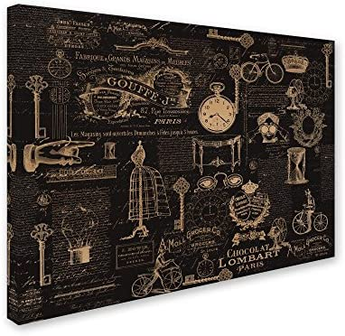 Vintage Steampunked Canvas Wall Art