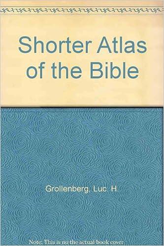 Download gratis bøger til pc Shorter Atlas of the Bible B001IVTVOQ PDF