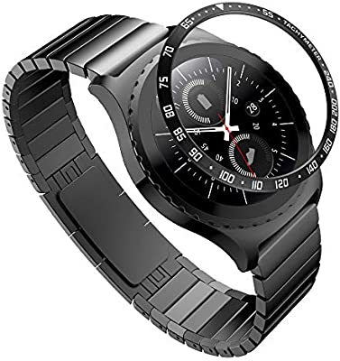 XIHAMA Bezel Compatible con Samsung Gear S2 Classic SM-R732, Bezel ...