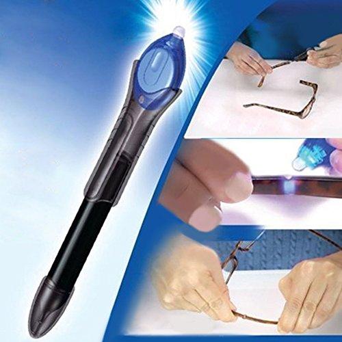 Compound Repair (5 Second UV Light Quick Fix Liquid Plastic Glass Welding Compound Glue Repair Pen)
