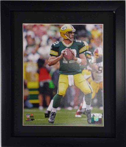 Aaron Rodgers Green Bay Packers framed photo  free shipping ()