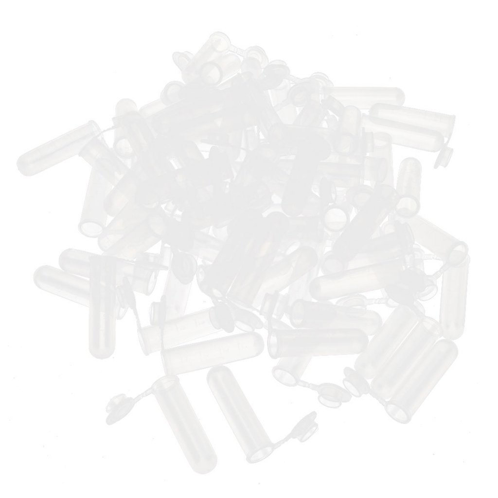 Baoblaze 300pcs 5ml Microcentrifuge Centrifuge Tubes with Cap for Lab Test Tube by Baoblaze