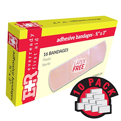 (Adhesive Bandages, Sheer Plastic, 3/4
