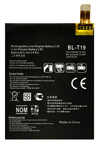 Bastex Internal Replacement Battery for Google Nexus 5X (H791), 3.8V(2700mAh)(10.3Wh) Li-Polymer with Free Repair Tool Kit for Google Nexus 5X(H791) (Best Accessories For Nexus 5x)