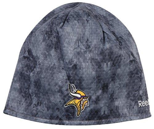 Equipment Adult Hat Reebok - Minnesota Vikings Cuffless Camoufalge Reebok Knit Hat One Size Fits All - K867Z