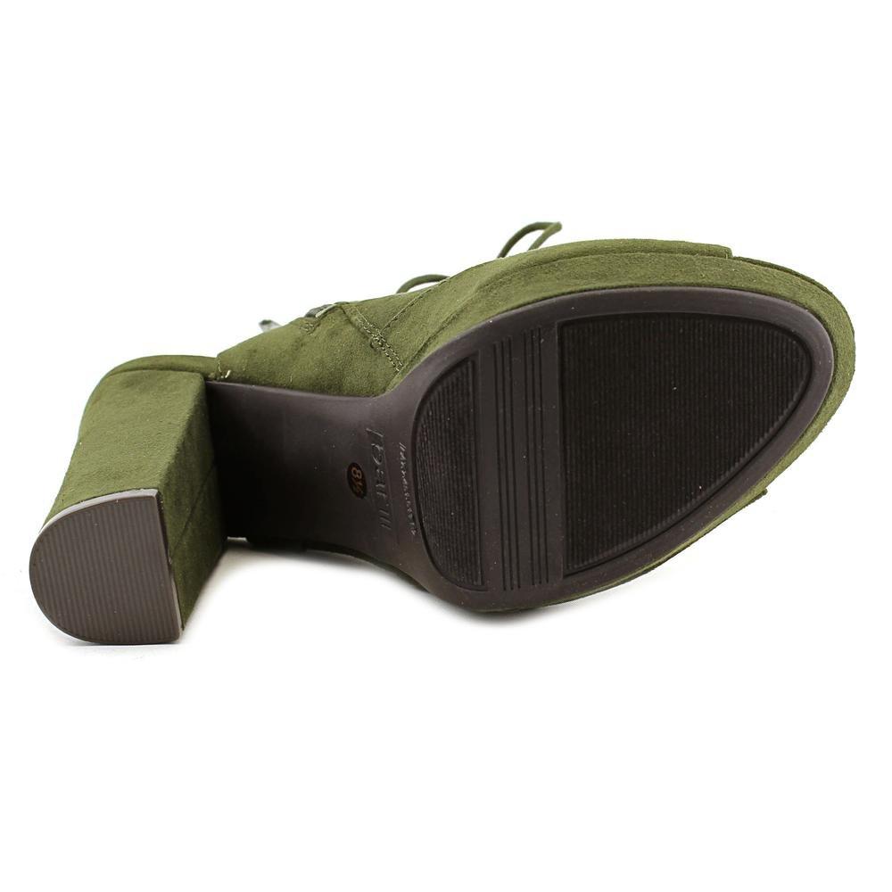 Bar III Womens Nelly Fabric Open Toe Casual Platform Sandals B076HX1VSH 10 B(M) US|Olive