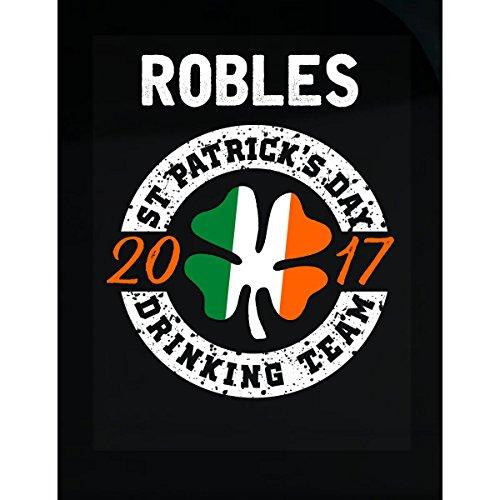 Prints Express Robles St Patricks Day 2017 Drinking Team Irish - Sticker