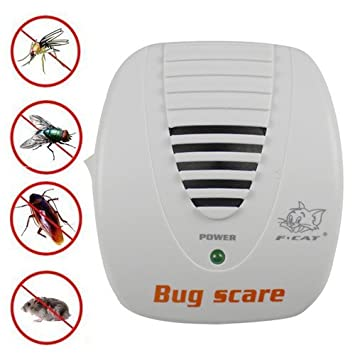 Amazing Electronic Mouse Mosquito Rat Pest Control Repeller Bug Scare Machine