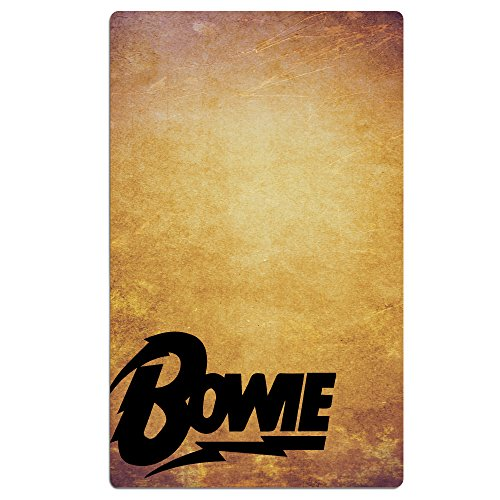 l 30x50 Inch Bowie Lightning Logo White (Liverpool Beach Towel)
