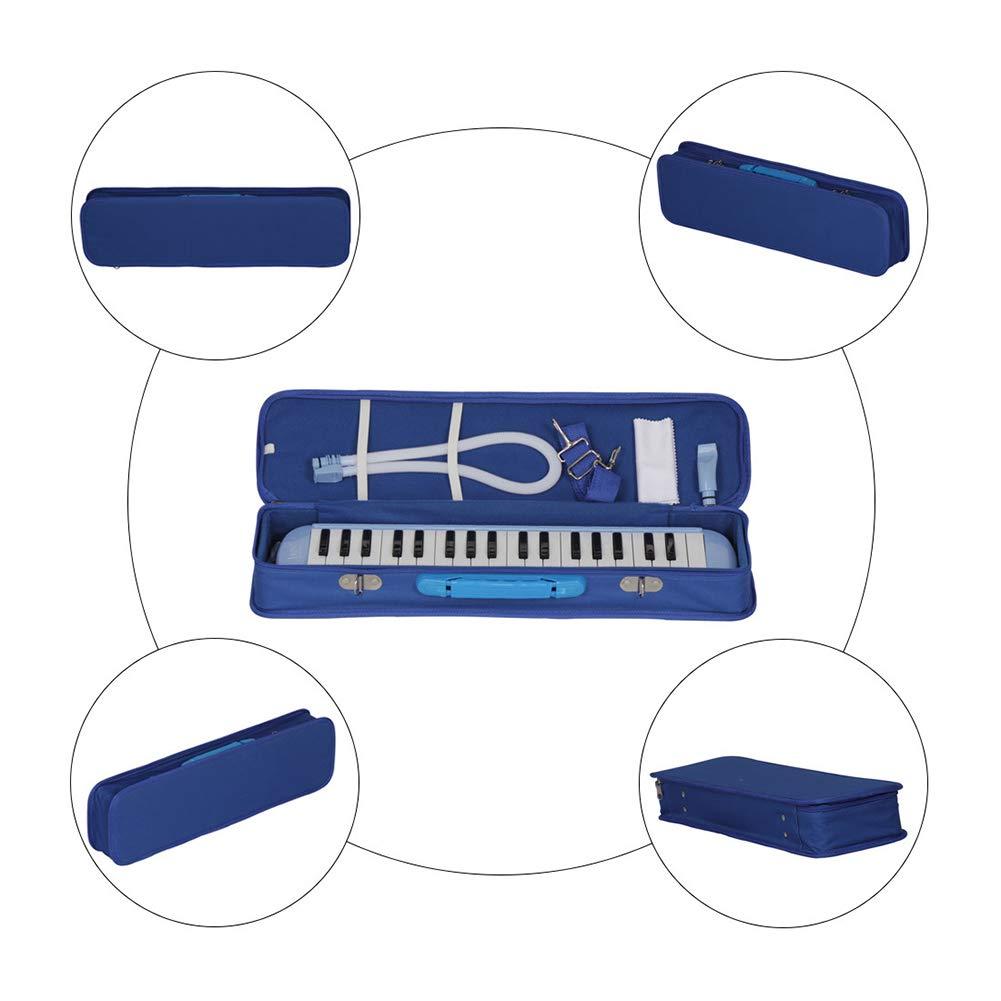 heaven2017 37 Key Melodica Kids Mouthpiece Tube Piano Keyboard Instrument Green by heaven2017 (Image #4)