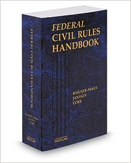 Book Federal Civil Rules Handbook, 2014 ed.