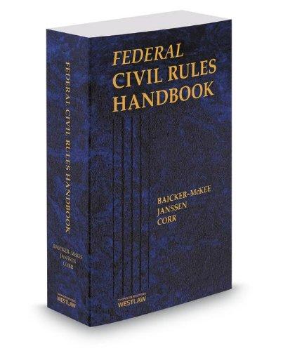 Federal Civil Rules Handbook, 2014 ed.