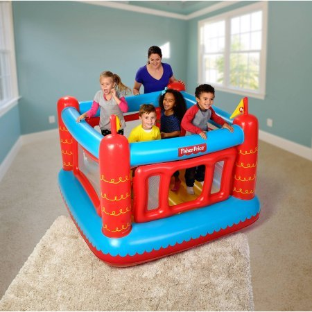 Fisher-Price Bouncetastic Bouncer with 50 Play Balls, 69