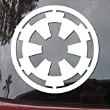 (US) Star Wars Galactic Empire Vinyl Decal - White Window Sticker | CMI130