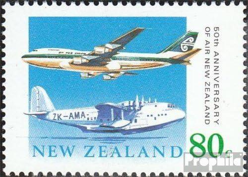 Prophila Collection Nuova Zelanda Michel.-No..: 1104 1990 Compagnia Aerea Francobolli per i Collezionisti Aviazione Completa Edizione