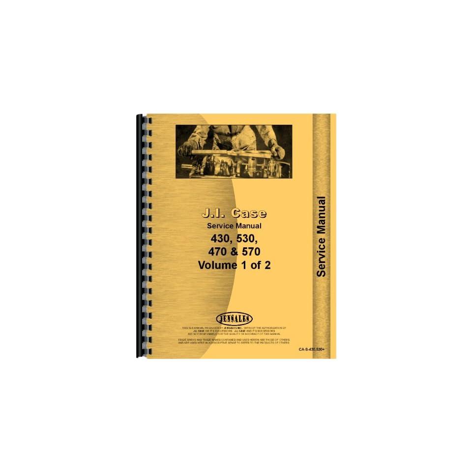 Case 570 Tractor Service Manual