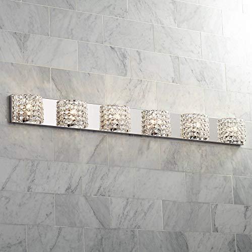 - Cesenna Modern Wall Light Chrome Hardwired 54 3/4