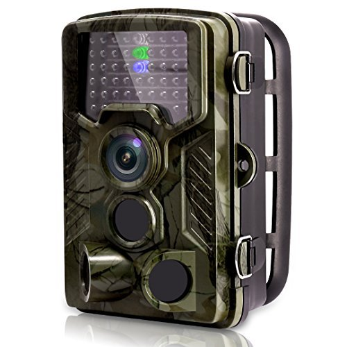 For Sale! [2018 New] VENLIFE Trail Camera, 16MP 1080P 120° PIR Sensor Wildlife Game Hunting Camera 65ft / 20m Infrared with Night Vision 46pcs IR LEDs, 0.2s Trigger Time IP56 Waterproof Protected Design