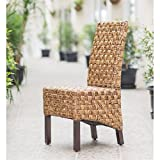 International Caravan SG-3309-1CH-IC Furniture Piece Victor Woven Abaca Dining Chair
