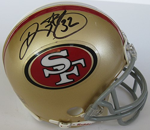 Ricky Watters, San Francisco 49ers, Signed, Autographed, Mini Helmet, a COA with the Proof Photo of Ricky Signing Will Be Included (Jerry Rice Signed Pro Helmet)