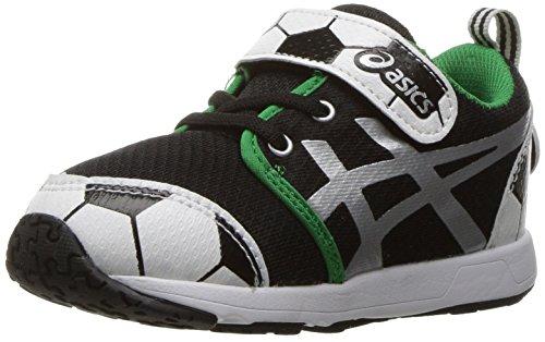Black Silver Toddler TS US 6 School M Shoe Boys' ASICS Yard Running Soccer q0xR8Ow