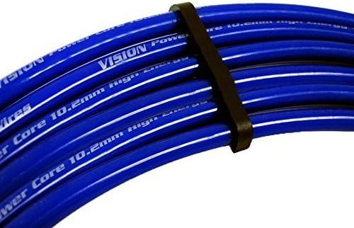 03-06 VMS Racing 10.2mm Alto Rendimiento CABLES DE ENCENDIDO BUJIA en AZUL para HYUNDAI TIBURON GT SE 2.7L Liter V6 03 04 05 06 2003 2004 2005 2006…