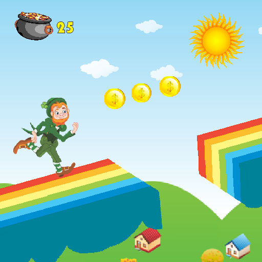 Ted's Rainbow Leprechaun Run -